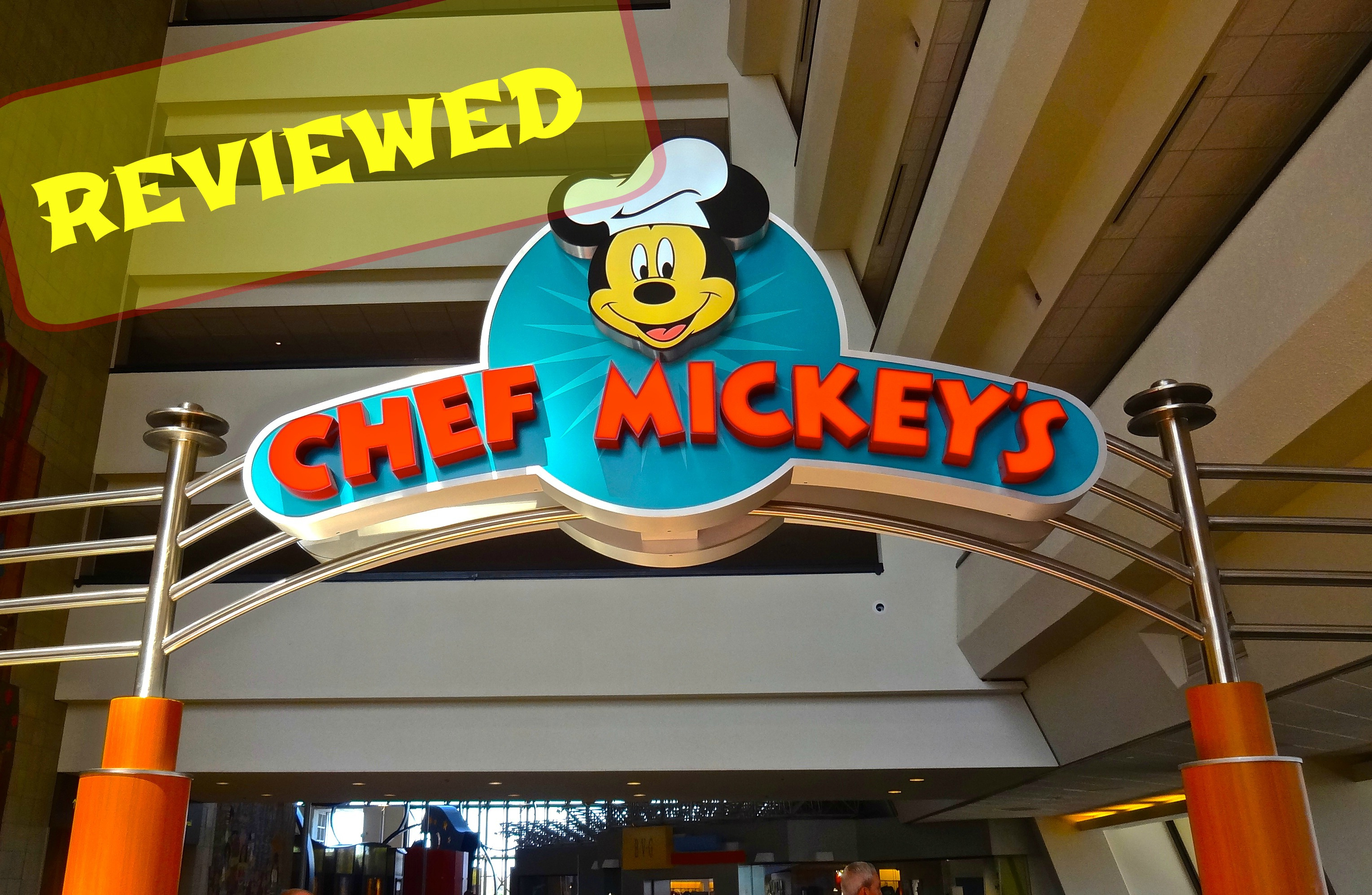 Disney Chef Mickey's Character Dining – Review and Photos
