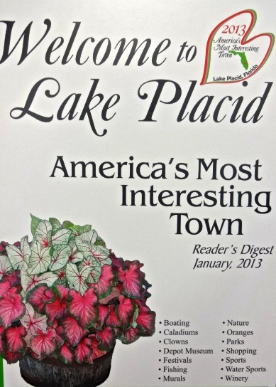 Lake Placid Florida: Voted America's Most Interesting Town
